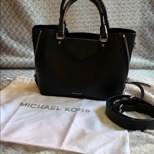 Michael Kors medium Blakely Satchel - Black
